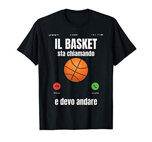 Basket Divertente Pallacanestro Pallone Maglietta