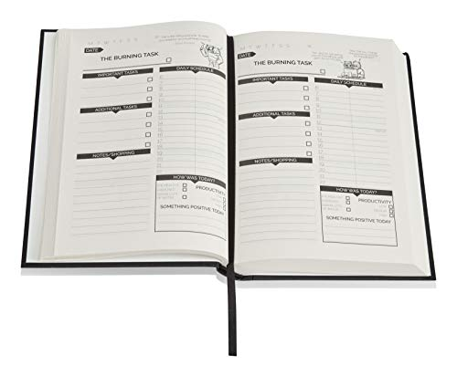 Product Image 5: The Procrastinators Planner – Daily / Weekly Organizer Designed to Increase Productivity and Combat Procrastination – Hardcover Half Year 182 Day Planner With Science and Philosopy of Procrastination