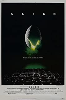 alien movie poster original
