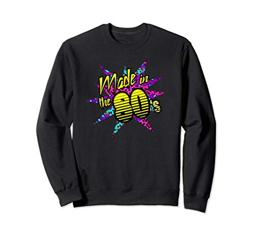 Made in the 80s Star Graphic Sweatshirt, Unisex, S to 2XL
