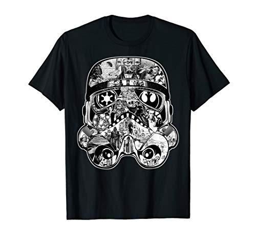 Star Wars Trooper Helmet Star Wars Story Poster T-Shirt