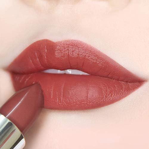 Semi Matte Vegan Lipstick with Creamy Satin Finish Dramatic Sunset Strawberry Hue Lip Color product image