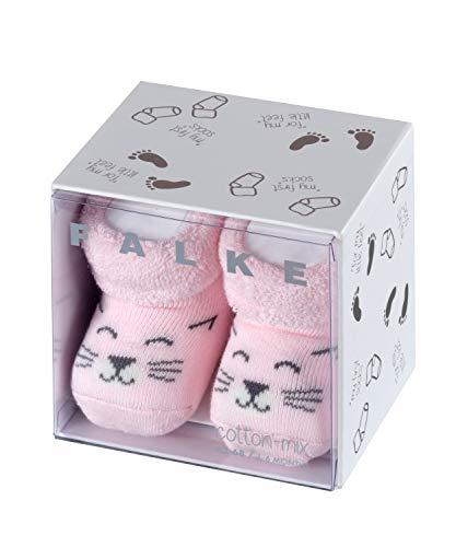 FALKE Baby Socken Cat - 86% Baumwolle, 1 Paar, Rosa (Powder Rose 8902), Größe: 50-56