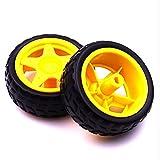 4pcs / lot stützende Räder intelligentes Autochassis, Reifen, Roboterautoräder/Smartautoräder für arduino