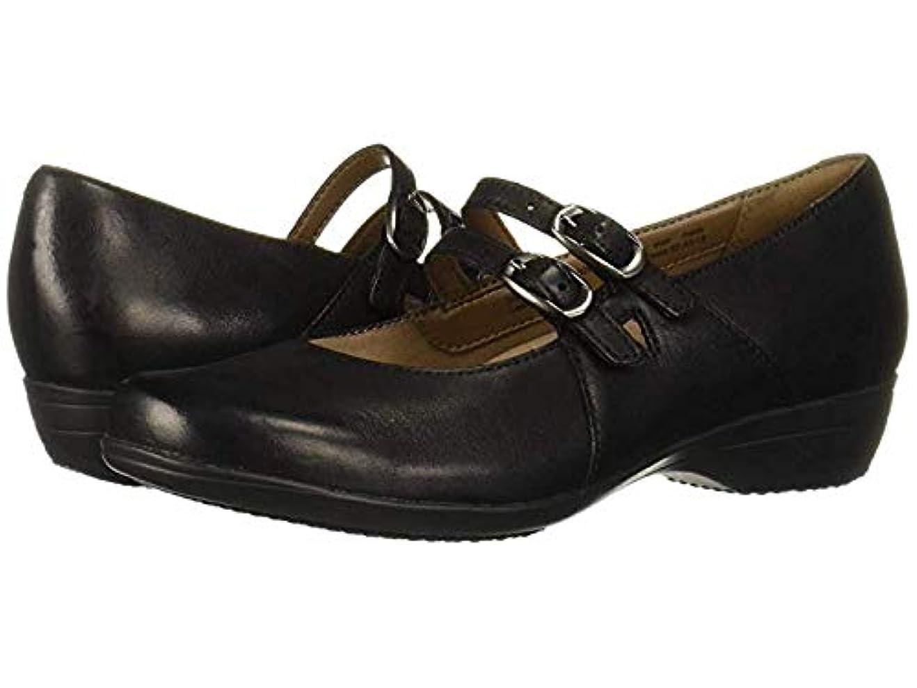 笑い雰囲気スピリチュアルレディースローファー?靴 Fynn Black Burnished Nubuck (25-25.5cm) Regular [並行輸入品]