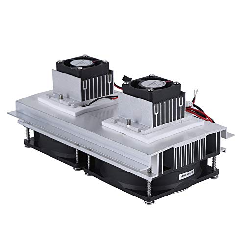 Enfriador Termoeléctrico de Doble Núcleo Kit de Sistema de Refrigeración y Refrigeración Peltier con Fuente de Alimentación