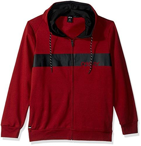 Oakley Herren Crossbar Mark Ii Fz Hoodie T-Shirt, Eisen Rot, Small
