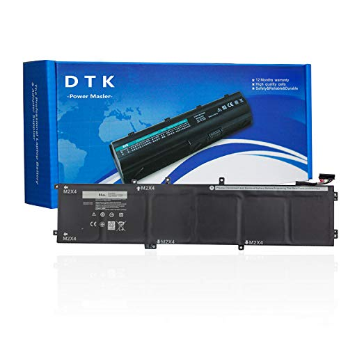 DTK Laptop Battery for Dell XPS 15 9550 Precision 5510 Series Replacement for 1P6KD 01P6KD 0T453 5XJ28 T453X 4GVGH (7200mAh 11.4V 84Wh)