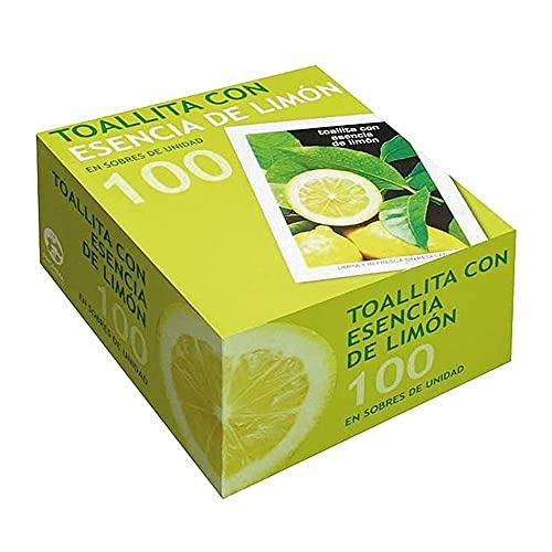 Toallita Refrescante Perfumada de Limón 100 Unidades