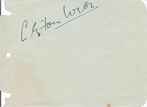Clifton Webb High quality new Fashion - Signature