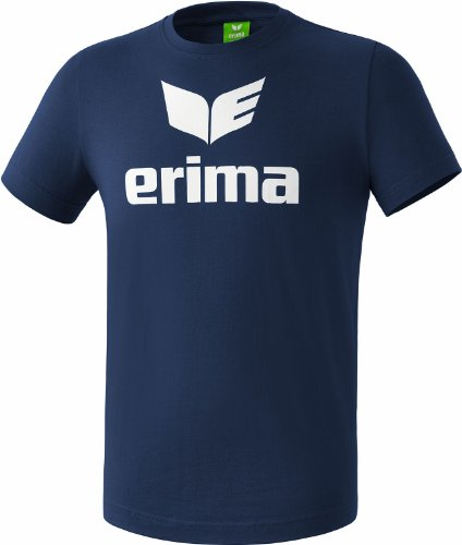 Erima Promo, T-Shirt Unisex Bambini, New Navy, 116