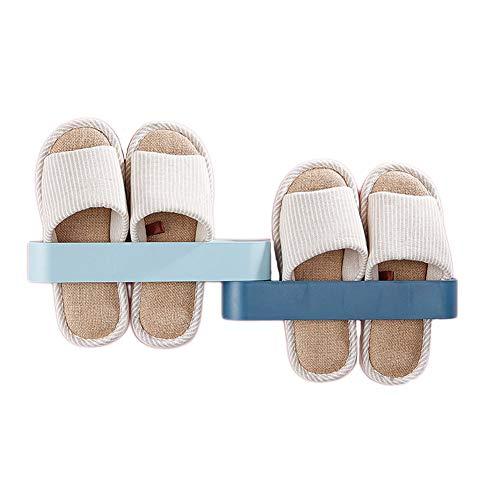KKJIA Estante Organizador De Zapatos De Baño Estante De Zapatos De Dormitorio Estante De Almacenamiento De Zapatos Estante De Zapatilla Colgante Alternativa Al Gabinete De Zapatos 9*6*28cm C