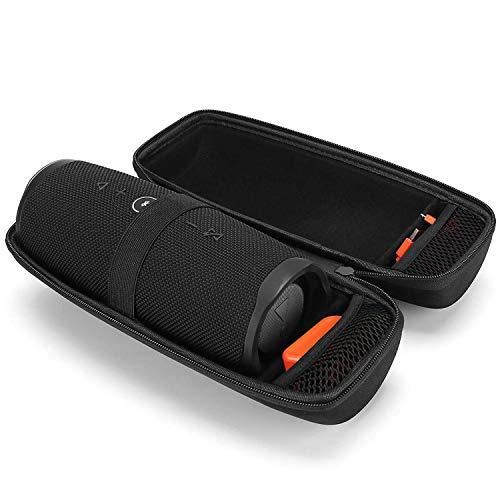 ProCase Eva harde hoes voor JBL Charge 4, reis- dragen opbergtas beschermhoes voor JBL Charge 4 watersicht draadloze speaker -zwart