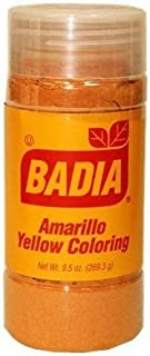Badia Yellow Coloring Bottle 1.75 OZ