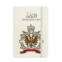 ダブルイーグルエンブレムの中世ヨーロッパの騎士 化学手帳クラシックジャーナル日記A 5