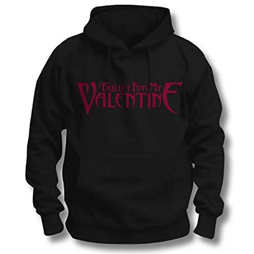 Bullet For My Valentine Logo Sweat-Shirt à Capuche, Noir, S Homme