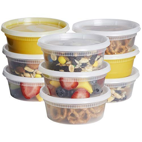10 ounce freezer containers - 7