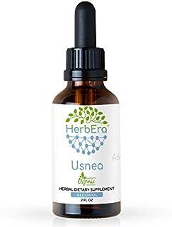 Usnea A60 Alcohol Herbal Extract Tincture, Organic Usnea (Usnea spp.) Dried Lichen (2 fl oz)