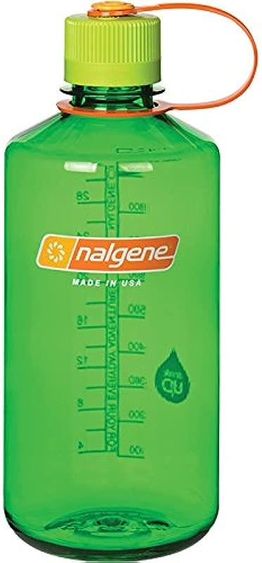 Nalgene Tritan 32 Oz Narrow Mouth BPA Free Water Bottle Melon Ball