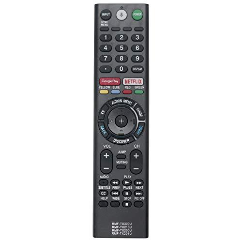 VINABTY RMF-TX300U RMF-TX200U RMF-TX201U Mando a Distancia de Repuesto para Sony TV KD-75XE9405 KD-65A1 KD-43XE8004...