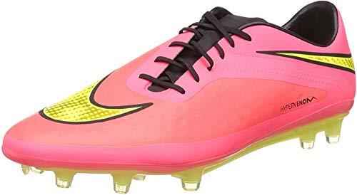Nike Hypervenom Phatal Fg, Scarpe da Calcio Uomo, Multicolore (Bright Crimson/Volt/Hyper Punch), 45.5 EU