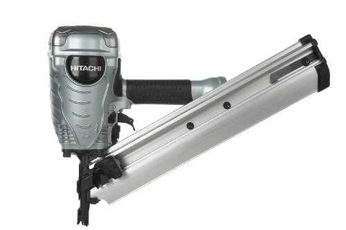 Hitachi NR90AD(S) 2-Inch to 3-1/2-Inch Clipped Head Paper Collated Framing Strip Nailer