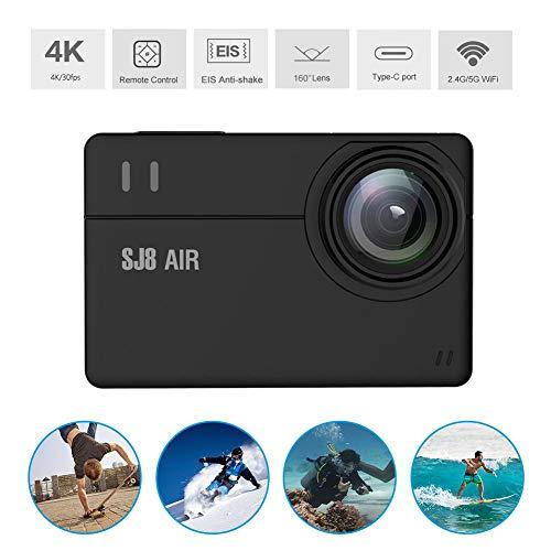 SJ8 AIR WiFi Waterdichte sportcamera met F2.6-diafragma 1080P 14MP tot 128G afstandsbediening Outdoor Action Camera DV-camcorder met montage-accessoires