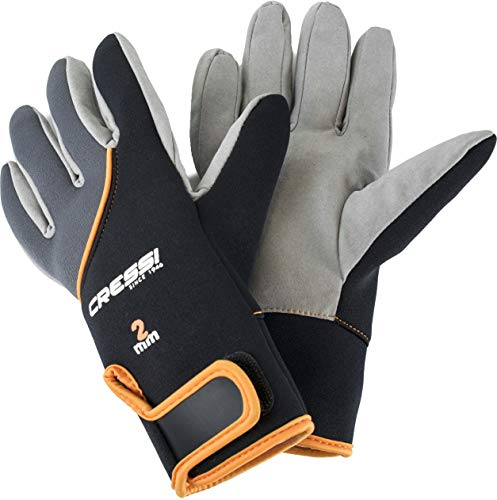 Premium Neoprene Water Sports and Scuba Diving Adult Gloves | TROPICAL by Cressi: quality since 1946, S