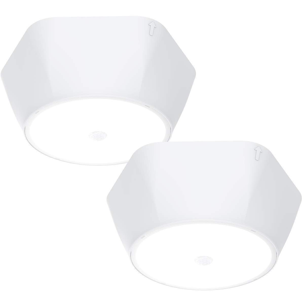 15ft Energizer Motion Activated Led Ceiling Light Battery Operated Motion Sensing And More Great For Laundry Room 300 Lumens Closets No Wiring Needed Garage 39677 Ceiling Lights Lighting Ceiling Fans