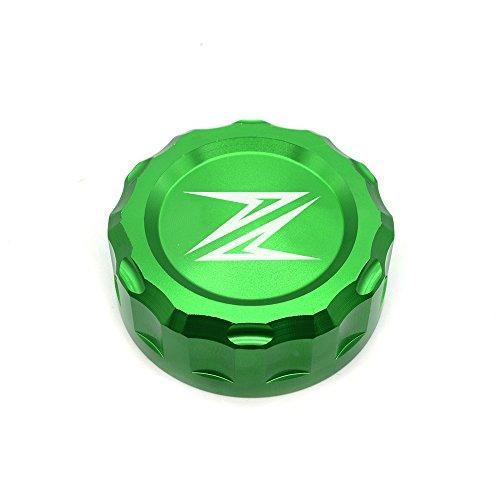 Z300 Z650 Z900 Z800 Z750 Z1000 Motorrad Bremse Hintere Bremsflüssigkeitsbehälter Kappe Für Kawasaki Z300 2016 Z650 2017 2018 Z900 2017 2018 Z800 2013-2017 Z750 R 2006-2010 Z1000 2007-2016 - Grün