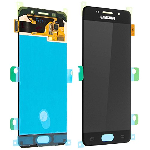 LCD Display Samsung A310F Galaxy A3 2016 Original full set Black - LCD Display + Display Glas + Touchscreen + Elektronik