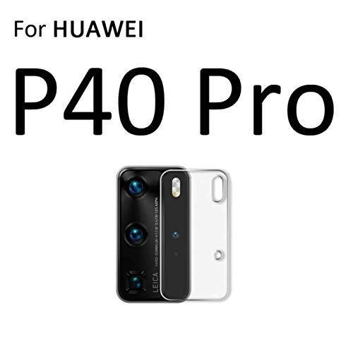 [3 Pack] Camera Lens Protector for Huawei P40 Pro Camera Lens Protector 7.5H Tempered Glass, HD Clarity Anti-Fingerprint Anti-Scratch