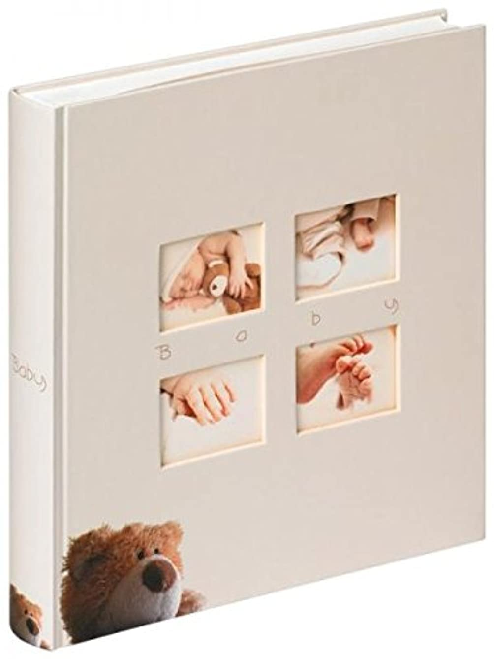 Walther Classic Bear UK-273 Baby Album 28 x 30.5 cm, 60 White Pages