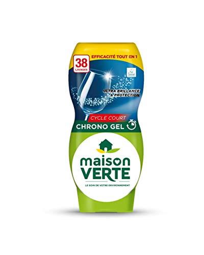 Maison Verte - Lave-vaisselle Gel chrono Ecolabel - 685 ml 38 lavages