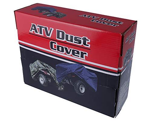 Bâche d'extérieur - Design camouflage - Taille XL - Pour ATV/Quad