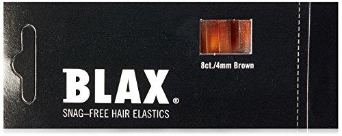 Blax Haargummis ohne Metallteile braun