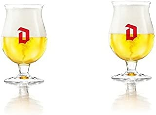 Duvel Tulip Belgian Beer Glass - Set of 2