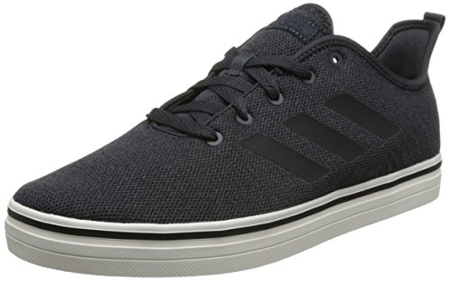 adidas Herren True Chill Skateboardschuhe, Schwarz (Carbon/Cblack/Cwhite), 44 EU