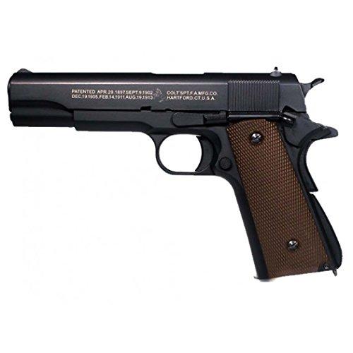 CYBERGUN PISTOLA COLT M1911A1 ANNIVERSARY FULL METAL SCARRELLANTE SOFTAIR