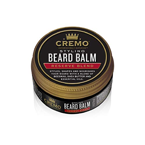 Cremo Reserve Collection Distillers Blend Beard Balm, 2 Oz