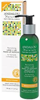 Andalou Naturals Revitalizing Lash Plus Lid Make-Up Remover, 6 Fluid Ounce
