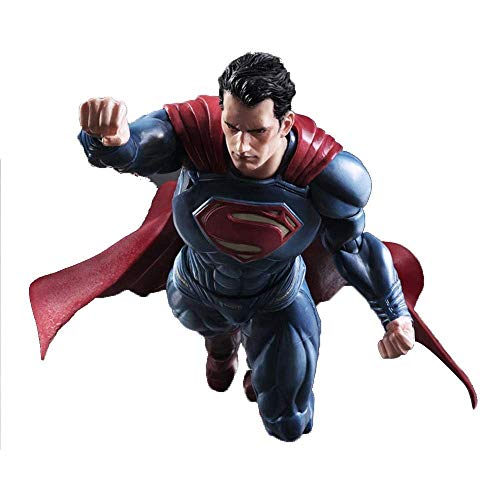 WXFQX Superman Action Figure, da 12 Pollici Superman Figura di Azione, DC Justice League Serie Superman Giocattolo Regali per Bambini
