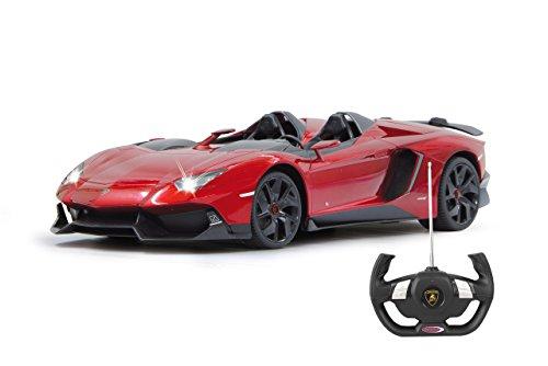 Jamara 404500 - Lamborghini Aventador J 1:12, metallic rot