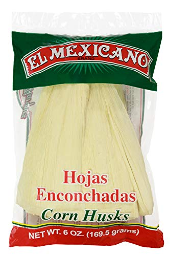 El Mexican Corn Husks 6oz (Hojas Para Tamal) (Single)