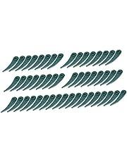 freneci Robust grön gräsklippare lämplig för BOSCH ART 23 18 LI ART 26 18 Li – 50 stycken