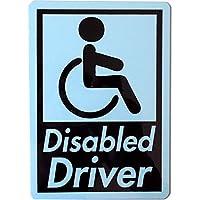 カーマグネット Disabled Driver 角丸長方形