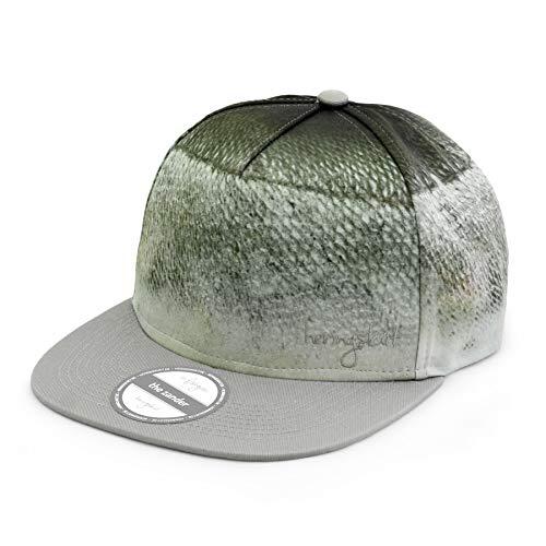 heringsküt Angel Cap I Basecap für Angler Snapback Anglerkappe Unisex I One Size 56 cm – 62 cm, Motiv Zander
