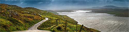 Panorama Acrylglasbild, Irland Wild Atlantik Way, Fineart Bild hochwertiges Wandbild, echter Fotoabzugin Galerie Qualität, Acrylglas auf Alu. Dibond©