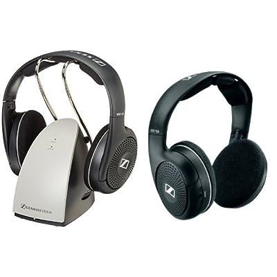 Sennheiser On-Ear 926MHz Wireless RF Headphones with Charging Cradle