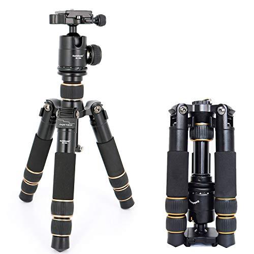 koolehaoda KQ-166 Travel Portable Mini Tripod With Ball Head For DSLR Camera (KQ-166 Mini triod)